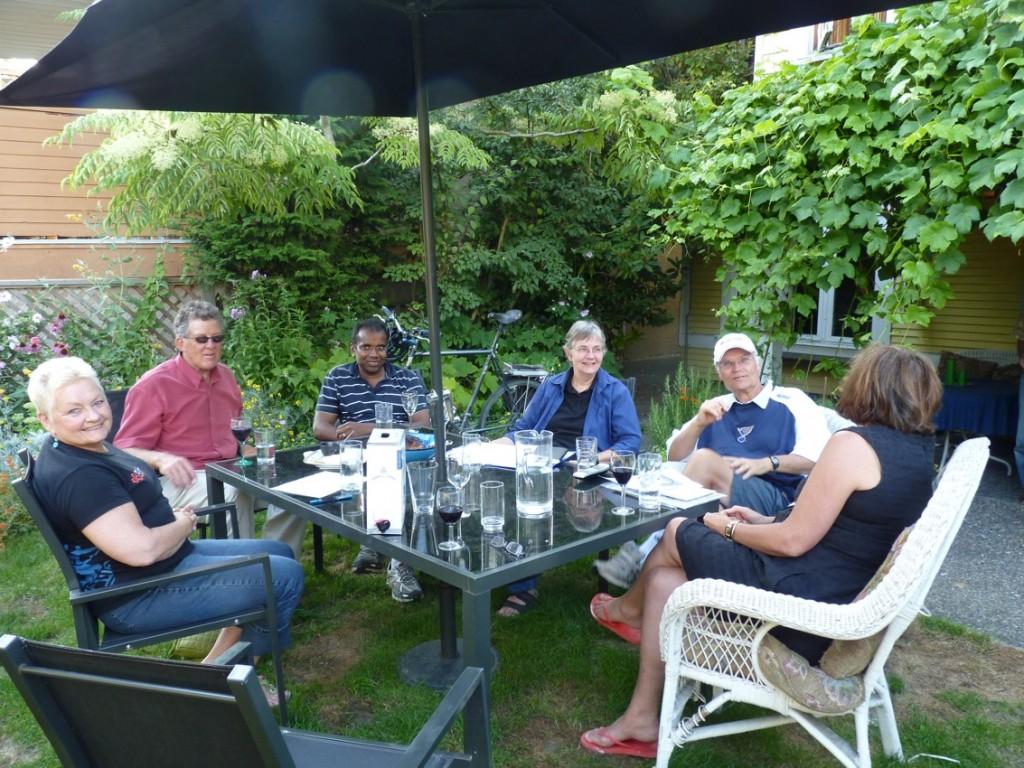 Rose Canada Meeting in garden